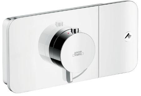 ハンスグローエ【45711000】アクサーワン designed by バーバー&オズガビー サーモスタット混合水栓 1アウトレット