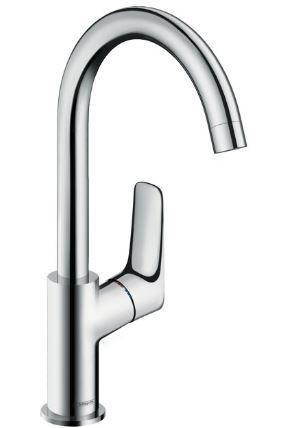 ハンスグローエ【71131000】ロギス ハイスパウトシングルレバー洗面混合水栓 210 (ポップアップ引棒無)