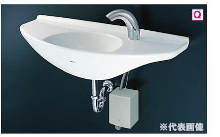 ###TOTO カウンター一体形手洗器 セット品番【L650D+TENA40AW】台付自動水栓(単水栓・発電タイプ) 壁排水金具(Pトラップ)