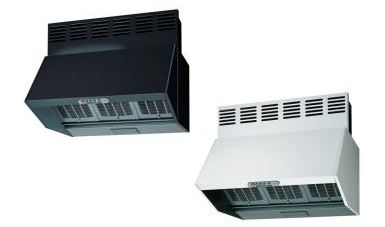 東芝 レンジフードファン【VFR-73LJPM(W)/VFR-73LJPM(K)】深形三分割構造シロッコファンタイプ 同時給排式(強制排気・自然給気)接続ダクトφ150mm 75cm巾 電動機密シャッター付 (旧品番 VFR-73VJPM(W)/VFR-73VJPM(K))