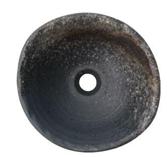 三栄水栓/SANEI 【HW1023-L-006】(本体のみ) 手洗器 利楽 黄昏(たそがれ) 丸置型(大)
