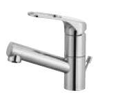 三栄水栓/SANEI 水栓金具【K475PJK-U-13】寒冷地 シングルワンホール洗面混合栓 (省施工ナット付) ポップアップ用