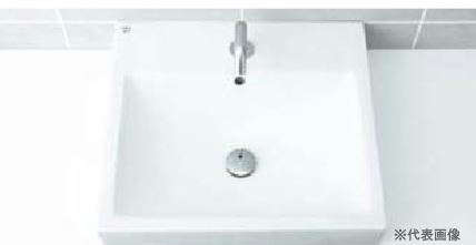 INAX 洗面器【L-536FCPR】角形洗面器(ベッセル式) 洗面器本体のみ