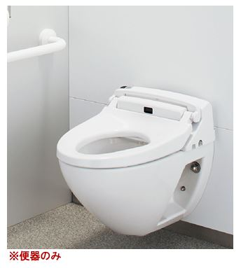 ###▽INAX パブリック向け壁掛便器【C-P12P】便器部のみ 給水隠ぺい形 ネオボルテックス式 (床上排水)