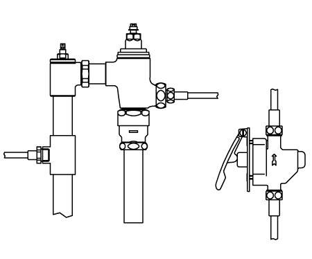 ###▽INAX リモコンフラッシュバルブ【CFR-680UPK】押しボタン式(レバー式) 隠ぺい形ボックス無 上水 受注約4週