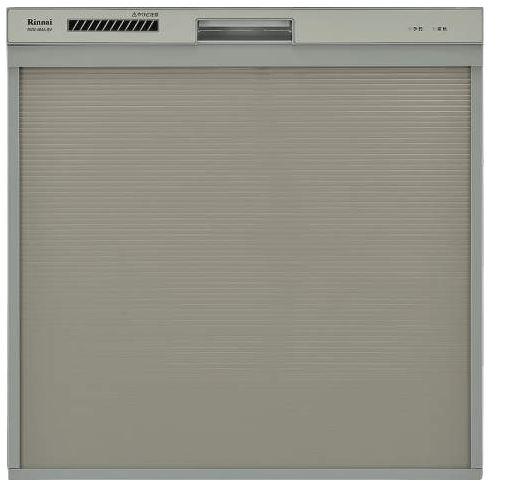 ###▽リンナイ 食器洗い乾燥機【RSW-404A-SV】取替用タイプ スライドオープン シルバー 幅45cm