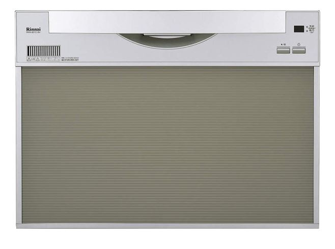 ###リンナイ 食器洗い乾燥機【RSW-601C-SV】取替用タイプ スライドオープン シルバー 幅60cm