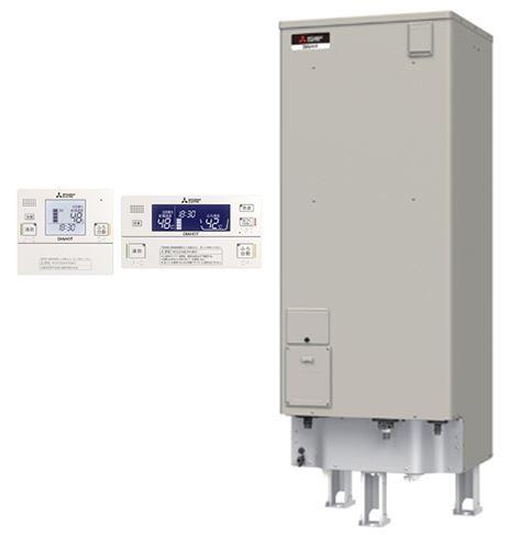 ###三菱 電気温水器【SRT-J37CDH5】(インターホンリモコンセット) 自動風呂給湯タイプ エコオート 標準圧力型 マイコン 角形 370L (旧品番 SRT-J37CH4)