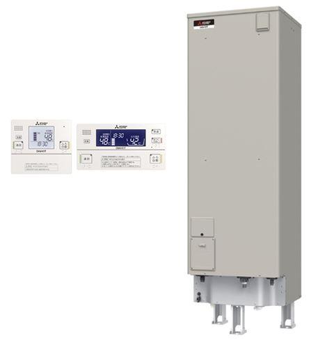 ###三菱 電気温水器【SRT-J46CD5】(インターホンリモコンセット) 自動風呂給湯タイプ エコオート 高圧力型 マイコン 角形 460L (旧品番 SRT-J46CD4)