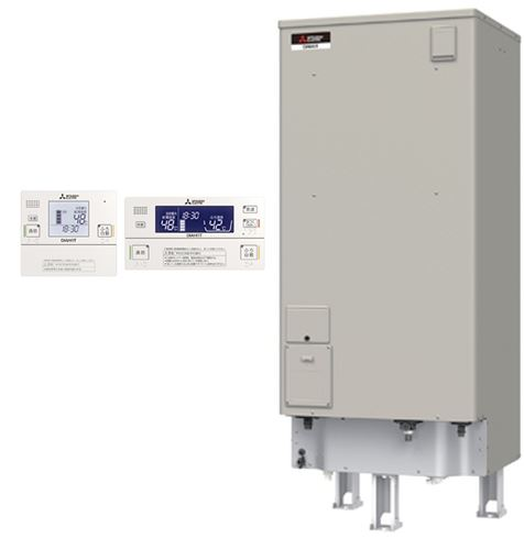 ###三菱 電気温水器【SRT-J46CDM5】(インターホンリモコンセット) 自動風呂給湯タイプ エコオート 高圧力型 マイコン 角形 ローボディ 460L (旧品番 SRT-J46CDM4)