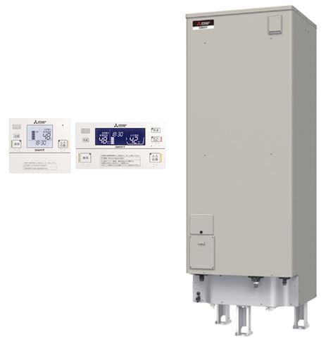 ###三菱 電気温水器【SRT-J55CD5】(インターホンリモコンセット) 自動風呂給湯タイプ エコオート 高圧力型 マイコン 角形 550L (旧品番 SRT-J55CD4)