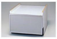 ###リンナイ【KWP-454K-SV】食器洗い乾燥機 下部キャビネット シルバー 45cm幅 スライドオープンタイプ用