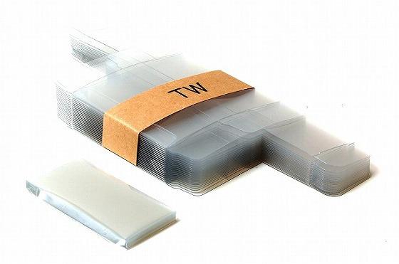 ☆トミカ対応商品 市販 ミニカー保護用クリアケース 品質保証 TW 小2個用外箱サイズ トミカ 20個セット