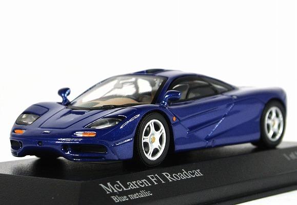 中古:未使用 宅配便送料無料 この商品は中古品となります 当店で検品しておりますがコンディション等につきましては写真にてご確認ください MINICHAMPS ミニチャンプス 1 43 マクラーレン metallic 133435 F1 GTR 待望 530 Blue ロードカー