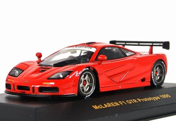 中古:未使用 この商品は中古品となります 当店で検品しておりますがコンディション等につきましては写真にてご確認ください ixo 予約販売 イクソ 1 安い 43 1995 F1 MOC075 プロトタイプ マクラーレン GTR RED