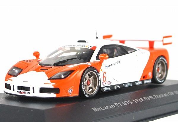 中古:未使用 この商品は中古品となります 当店で検品しておりますがコンディション等につきましては写真にてご確認ください PALMA パルマ 1 43 マクラーレン F1 上等 #6 40009 1996 GTR BPR ズーハイ ZhuHai 売店 GP