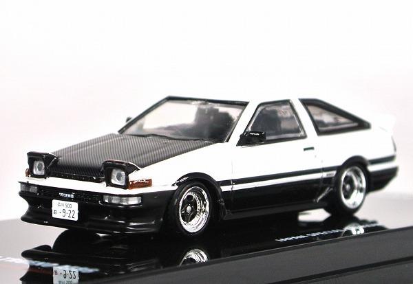 INNO MODEL イノモデル 1 64 トヨタ スプリンター トレノ AE86 人気の定番 SPECIAL ホワイト ブラック エクストラ EDITION 無料サンプルOK IN64-AE86T-WHB ホイール付 JAPAN