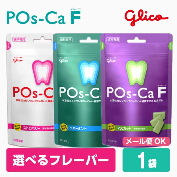 甘味料キシリトール100%歯科専売トミカグミ ポスカ 4年保証 エフ POs-Ca パウチタイプ 100g ポスカF F 在庫処分