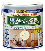 日本ペイント(ニッペホーム) 水性エコファミリー (10色) 3.2L