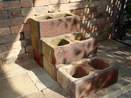 アンティーク古煉瓦のブロック