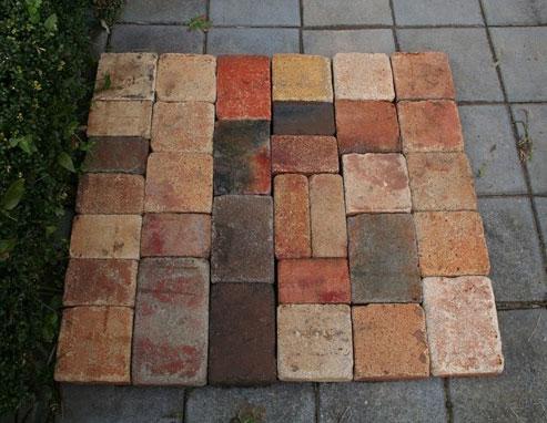 アンティークレンガ古煉瓦クロスハーモニー1平米
