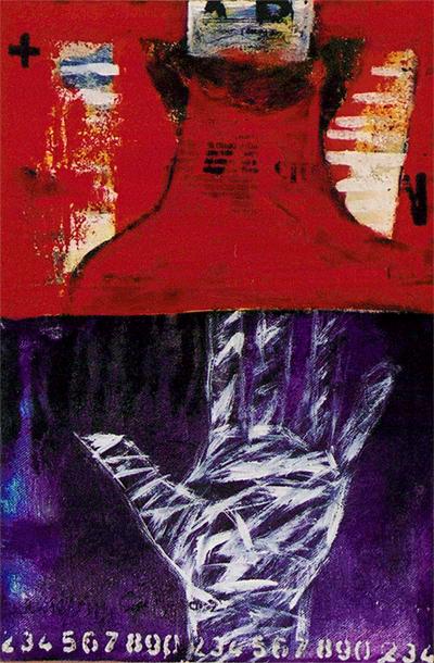 バリ絵画 018B0007