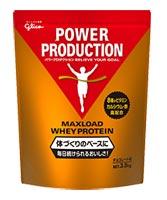 グリコ パワープロダクション MAXLOADホエイプロテイン チョコレート風味 3.5kg 【送料無料】