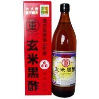 まるしげ玄米黒酢 900ml 6本セット 【送料無料】