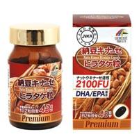 ユニマットリケン 納豆キナーゼ ヒラタケ粒 プレミアム 4個セット 【送料無料】