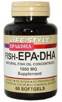 ライフスタイル(LIFE STYLE) FISH EPA DHA 6個セット 【送料無料】