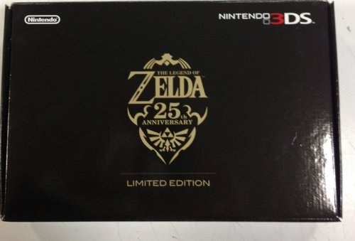 3DS ニンテンドー3DS ゼルダの伝説25周年エディション 本体 中古 4902370519365 送料無料 【中古】