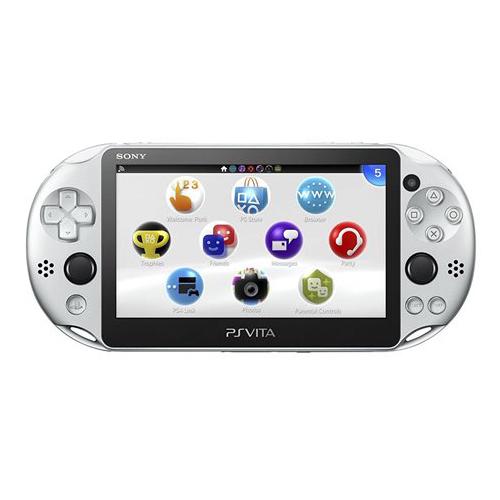 PSVita 2000 PlayStation Vita Wi-Fiモデル シルバー (PCH-2000ZA25) 本体のみ PlayStationVita SONY ソニー 中古 4948872414326 送料無料 【中古】