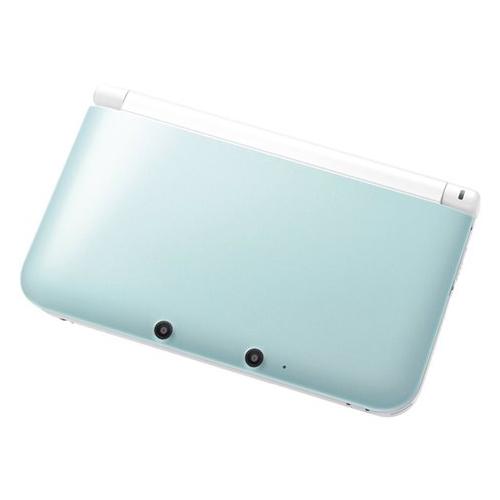 3DSLL ニンテンドー3DS LL ミントXホワイト 本体 完品 外箱付き Nintendo 任天堂 ニンテンドー 中古 4902370520651 送料無料 【中古】