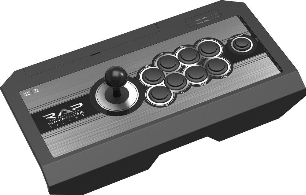 PS4 PS3 PC対応 リアルアーケードPro.V サイレント HAYABUSA コントローラ 中古 4961818025554 送料無料 【中古】