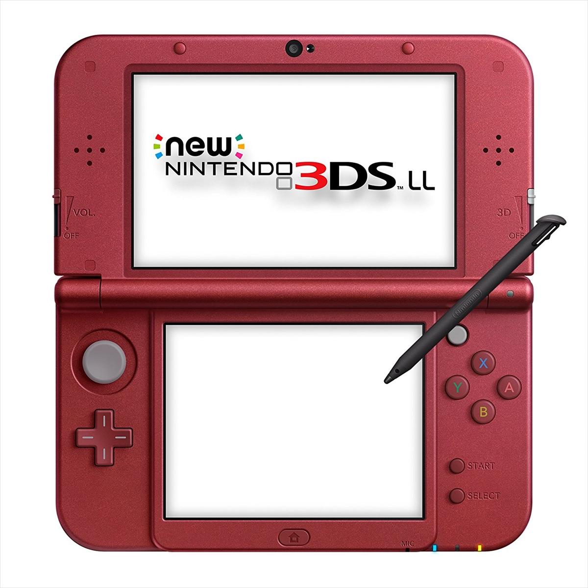 Newニンテンドー3DS LL 本体 メタリックレッド 本体 完品 外箱付き ニンテンドー 任天堂 Nintendo 中古 4902370529883 送料無料 【中古】