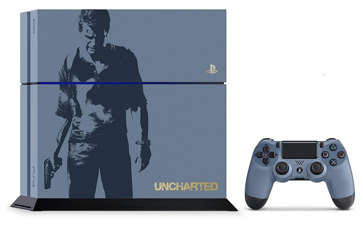 PS4 本体 アンチャーテッド リミテッドエディション プレステ4 プレイステーション4 PlayStation4 SONY ゲーム機 中古 4948872447232 送料無料