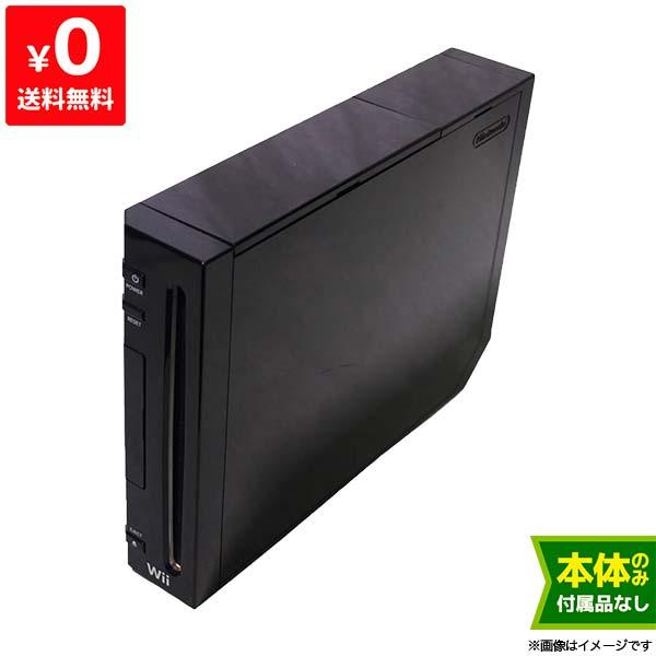 良い Wii ウィー 本体のみ クロ 黒 ニンテンドー 任天堂 Nintendo 中古 4902370517811 送料無料 【中古】