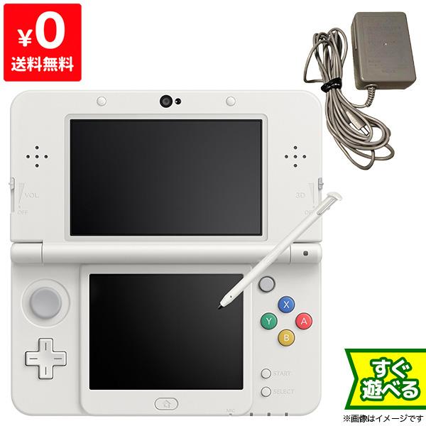 本物◆ 良い New3DS New SALE ニンテンドー3DS ホワイト KTR-S-WAAA 本体 ニンテンドー 4902370522150 中古 任天堂 Nintendo すぐ遊べるセット