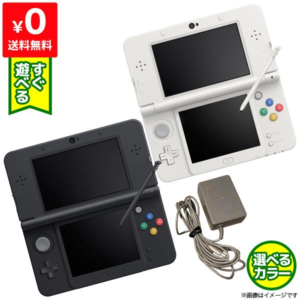 良い 未使用 New3DS Newニンテンドー3DS 本体 すぐ遊べるセット 選べる2色 中古 任天堂 Nintendo ニンテンドー 送料無料(一部地域を除く) 4902370522150