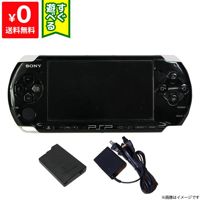 PSP プレイステーションポータブル 本体 PSP-3000PB ピアノ オーバーのアイテム取扱☆ ブラック PSP-3000 中古 在庫一掃売り切りセール ゲーム機 すぐ遊べるセット 4948872411967