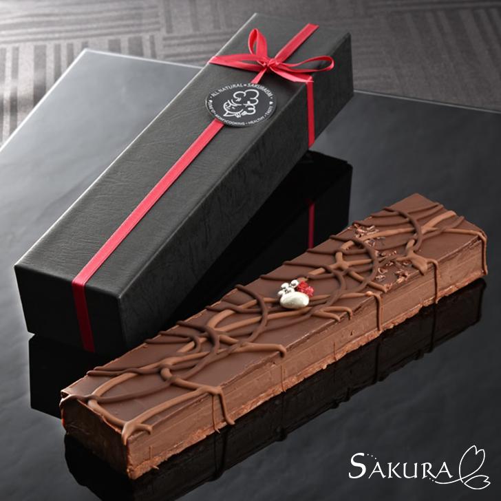バトン クーベルチュール ギフト 箱付 チョコレート プレゼント お菓子【SAKURA】【送料無料】