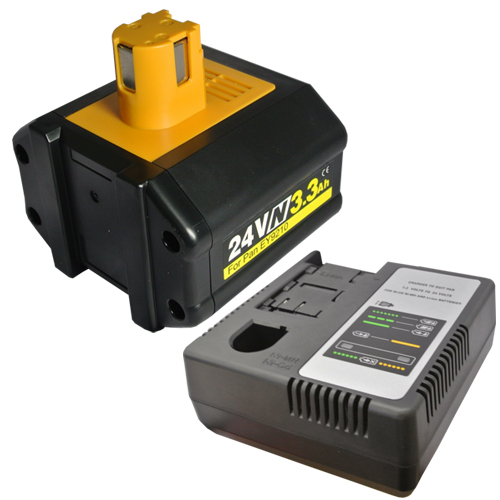 【大容量】 充電器セット パナソニック(Panasonic) 電動工具用 ニッケル水素 互換バッテリー 24.0V 3.3Ah 【EZ9210】対応 + マルチ充電器 【あす楽対応】【送料無料】