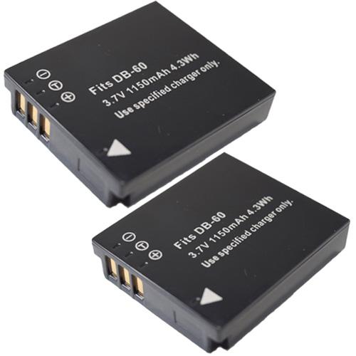 2個セット リコー セール 登場から人気沸騰 RICOH DB-60 DB-65 メール便送料無料 互換バッテリー 春の新作 DMW-BCC12 Panasonic パナソニック