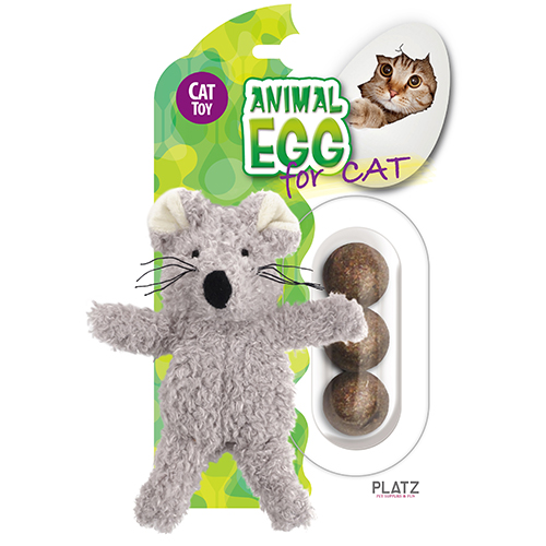 アニマルエッグ フォーキャット キティーメイト マウス | 猫用 おもちゃ(在庫限り)