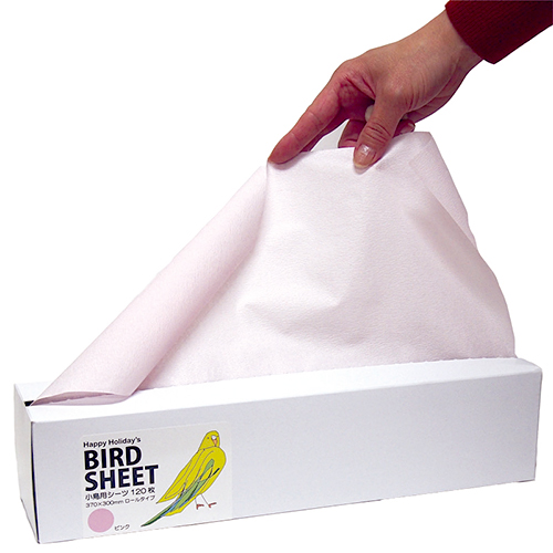 Happy Holiday Bird Sheets 7200円以上購入で送料無料 鳥 人気ブランド多数対象 小鳥 とり ペーパー 紙 高級な 120枚 3色 小鳥用 シーツ 小鳥用シーツ