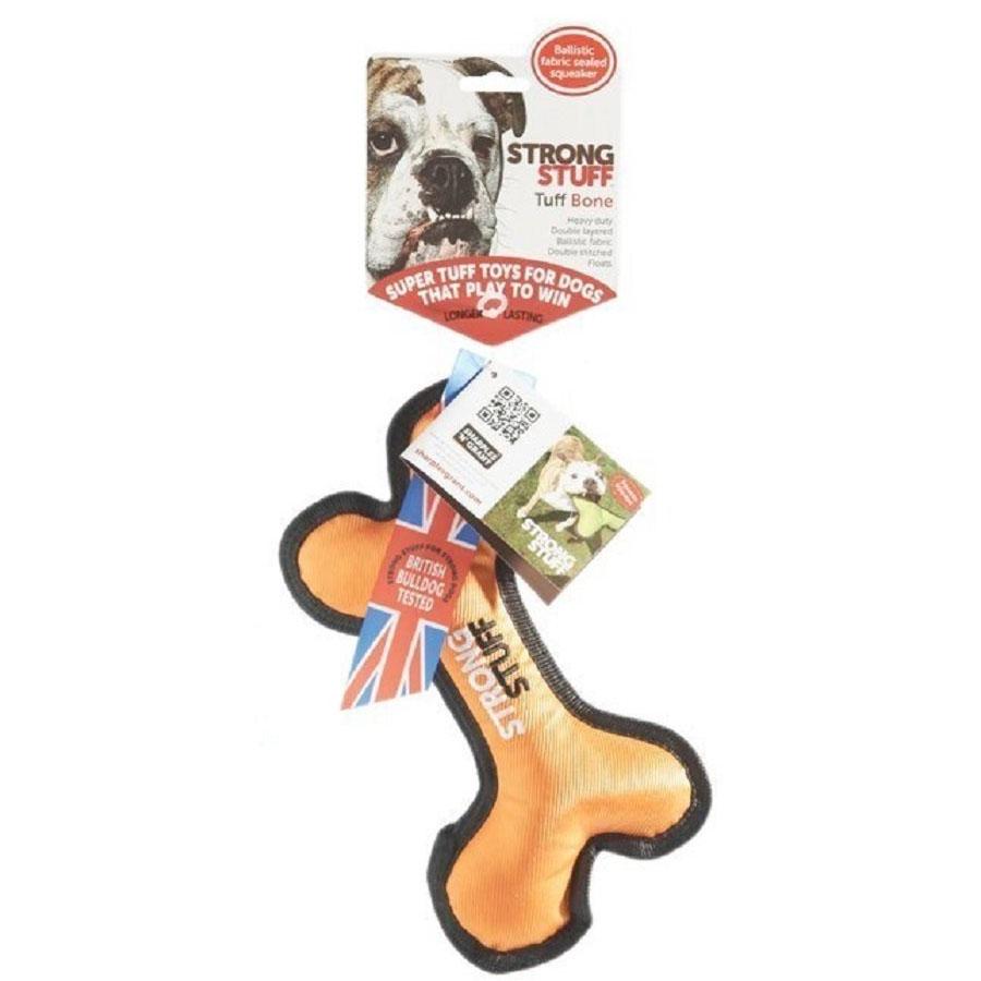 Strong Stuff Tuff Bone 7200円以上購入で送料無料 引っ張る 丈夫 ストレス解消 中型犬 ボーン おもちゃ バーゲンセール タフ 大決算セール 犬用 ストロング クリアランスセール 大型犬 スタッフ 30%OFF