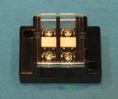 電気工事士技能試験対策品・半導体・工具・事務用品│第一種 電気工事士 技能試験用対応〓20A 2P 組端子台〓