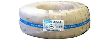 富士電線 〓 過酷なテストで実証された性能ラバロン 100m1巻 〓 VCT2×4芯