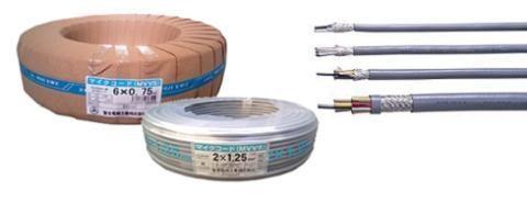各社 〓 マイクコード(シールド線) 1巻100メートル 〓 MVVS0.75×5芯