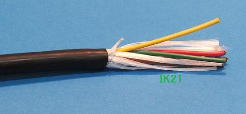 クラモ電工 〓 VCTF22ビニソフト 100メートル 〓 0.75mm2×8芯